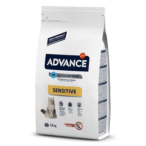 ADVANCE SENSITIVE GATO ADULTO 1.5kg