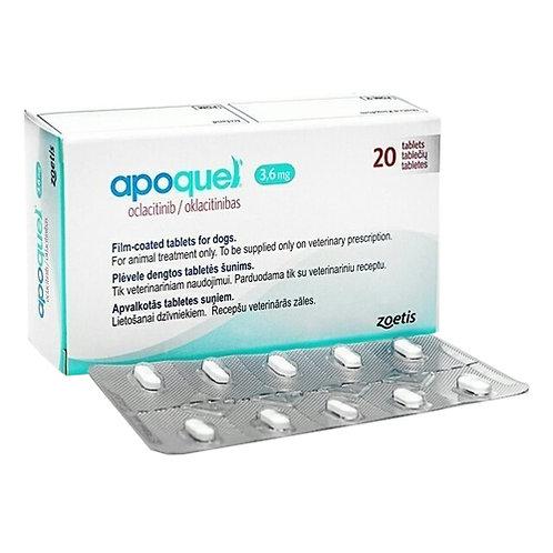 APOQUEL 3.6 mg x 20 TABLETAS