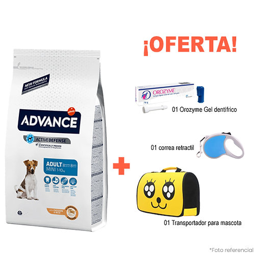 SMARTY PACK YELLOW ADVANCE ADULTO MINI 7.5kg