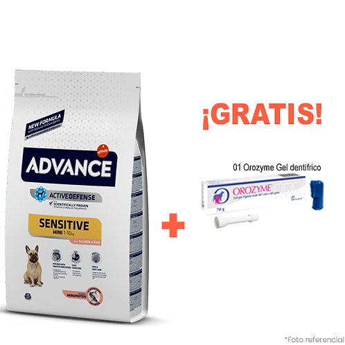 SMARTY PACK ADVANCE ADULTO MINI SENSITIVE SALMON 7.5kg