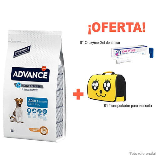 SMARTY PACK YELLOW ADVANCE ADULTO MINI 3kg