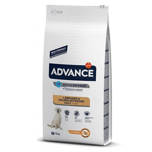 ADVANCE LABRADOR & GOLDEN RETRIEVER ADULTO 12kg