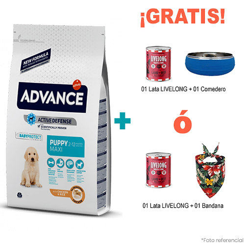 SMARTY PACK ADVANCE MAXI PUPPY BABYPROTECT 12 kg