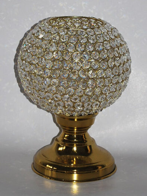 "Gold Bling Ball 9"" x 12"""