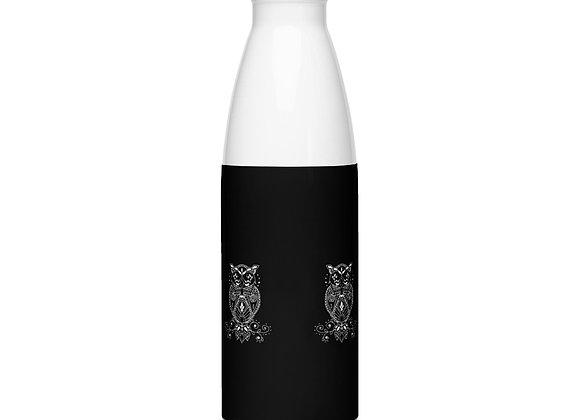"""The """"funky fierce"""" stainless steel water bottle"""