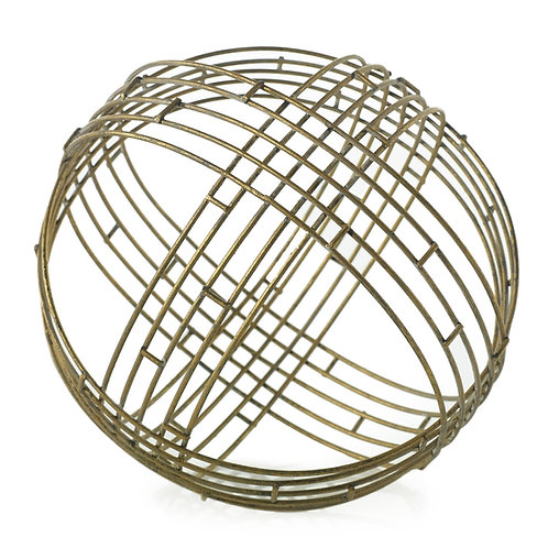 "Marais Geometric Sphere 8.5"""