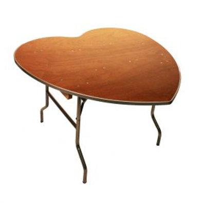 """48"""" Heart Table"""