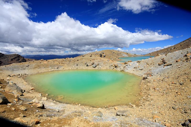 Agua volcánica