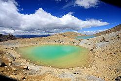 El agua volcánica