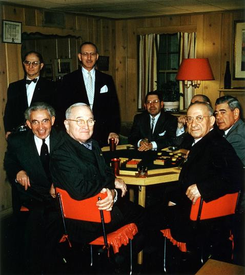 Harry Truman Poker Party
