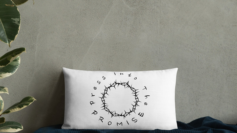 Press Into The Promise Pillows