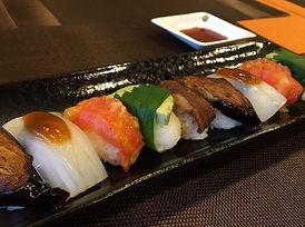 Cafe Dining ORIBIO 名古屋菜食カフェレストラン メニュー 野菜寿司