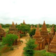 Bagan Myanmar Huts
