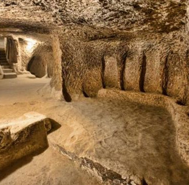 Underground City Room in Turkey