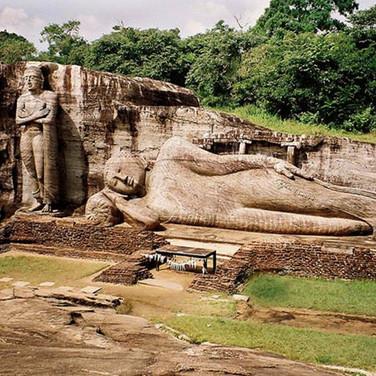 Polonnaruwa Laying Down