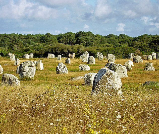 Carnac Stones in France