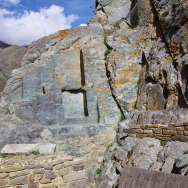Vitrified Cliff Steps