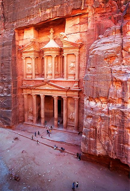 The Treasury of Petra Jordan