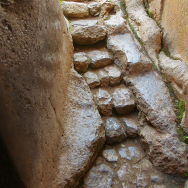 Steps to Temple of the Moon