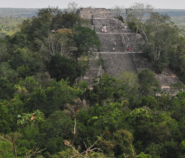 Nohuch Mul Pyramid in Coba