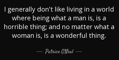 Patrice O'neal - Women's World