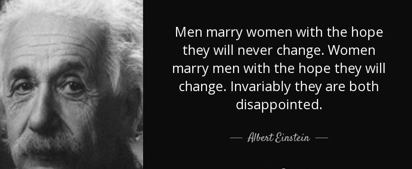 Albert Einstein - Marriage