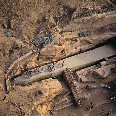Unfinished Obelisk in Aswan, Egypt