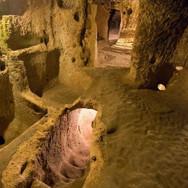 Underground City Walkways in Turkey