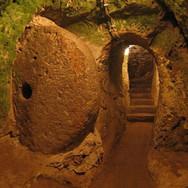 Underground City Door in Turkey