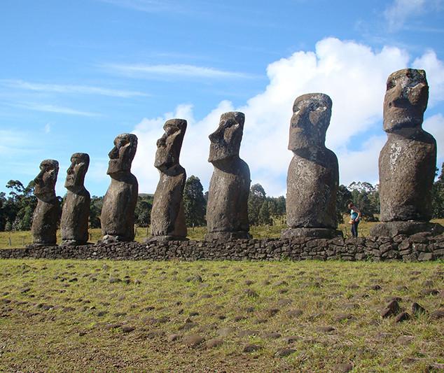 Moai on Easter Island #2