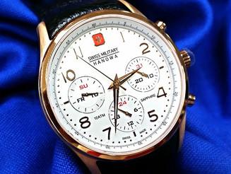 שעון סוויס מילטרי אלגנטי