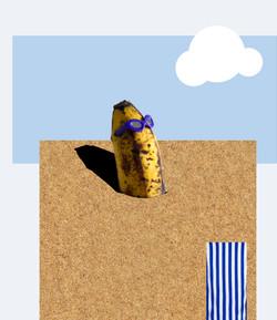 Banana bathing