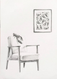 Lobster on Chair