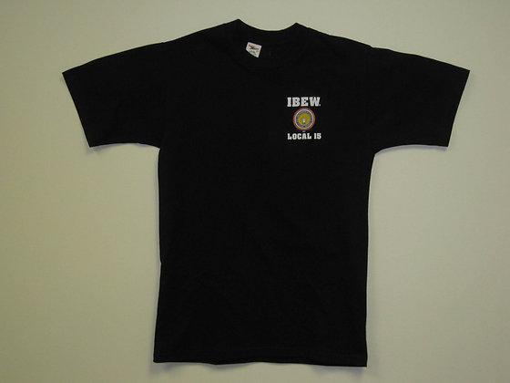#2 Black Short Sleeve T-Shirt