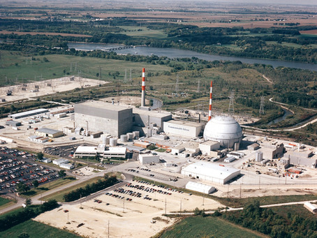 Lawmakers and Union Leaders tour Nuclear Plants