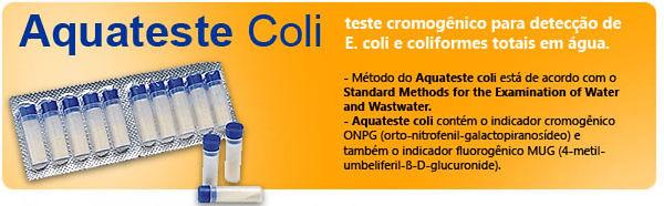 Aquateste Coli, Produto para análise de águas, Laborclin