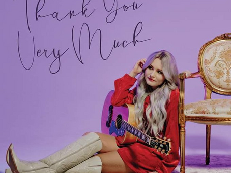 "NEWS: Lauren Hall set to release ""Thank You Very Much"""