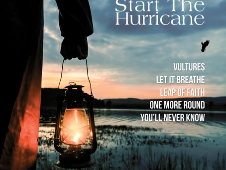 NEWS: Gareth Lewis releases his debut EP 'Start The Hurricane'