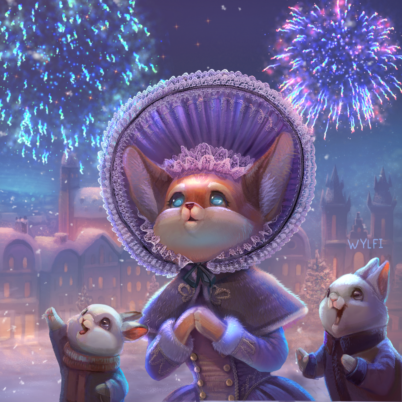 foxy christmas for animation 3_00102