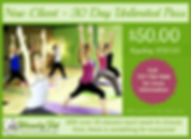 Wendy Fit Yoga and Pilates Special Package for New Clients