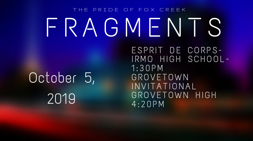 Fox Creek Band - October 5, 2019 Competition