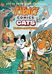 SCIENCE COMICS CATS NATURE & NURTURE HC GN