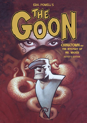GOON HC VOL 06 CHINATOWN AND THE MYSTERY OF MR WICKER