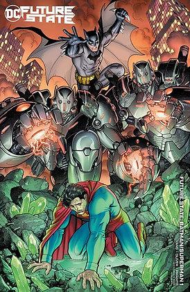 FUTURE STATE BATMAN SUPERMAN #1 (OF 2) CVR B ARTHUR ADAMS CARD STOCK VAR