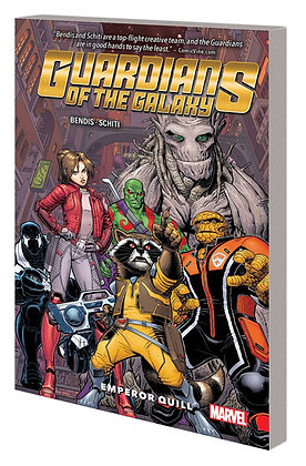 GUARDIANS OF THE GALAXY NEW GUARD TP VOL 01 EMPEROR QUILL