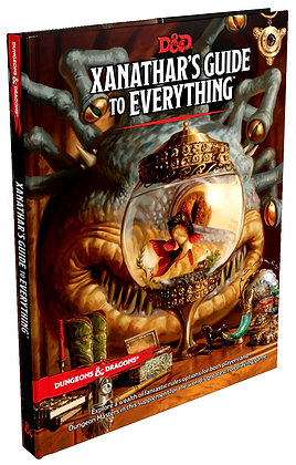 D&D DUNGEONS & DRAGONS RPG: XANATHARS GUIDE TO EVERYTHING