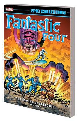 FANTASTIC FOUR EPIC COLLECTION THE COMING OF GALACTUS TP NEW PTG