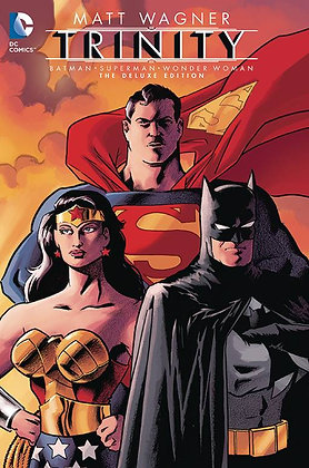 BATMAN SUPERMAN WONDER WOMAN TRINITY DELUXE EDITION HC