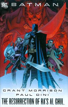 BATMAN THE RESURRECTION OF RAS AL GHUL HC