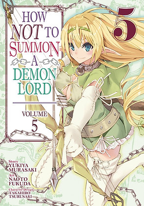 HOW NOT TO SUMMON A DEMON LORD GN VOL 05 (MR)